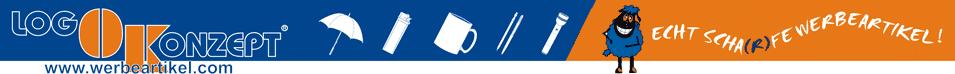 Logo Konzept Werbeartikel