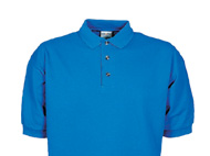 Cotton Deluxe Short Sleeve Pipué Polo Shirt with Pocket