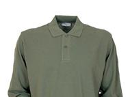 Langärmliges Polo-Shirt aus 100% Baumwollpiqué